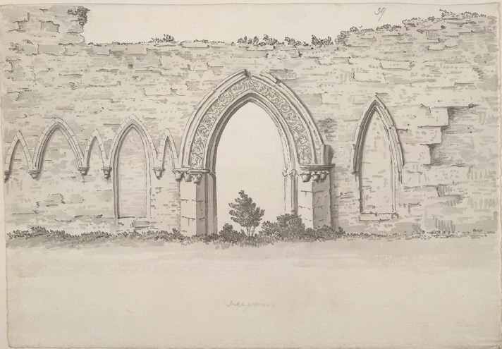 Hexham, cloisters f.39